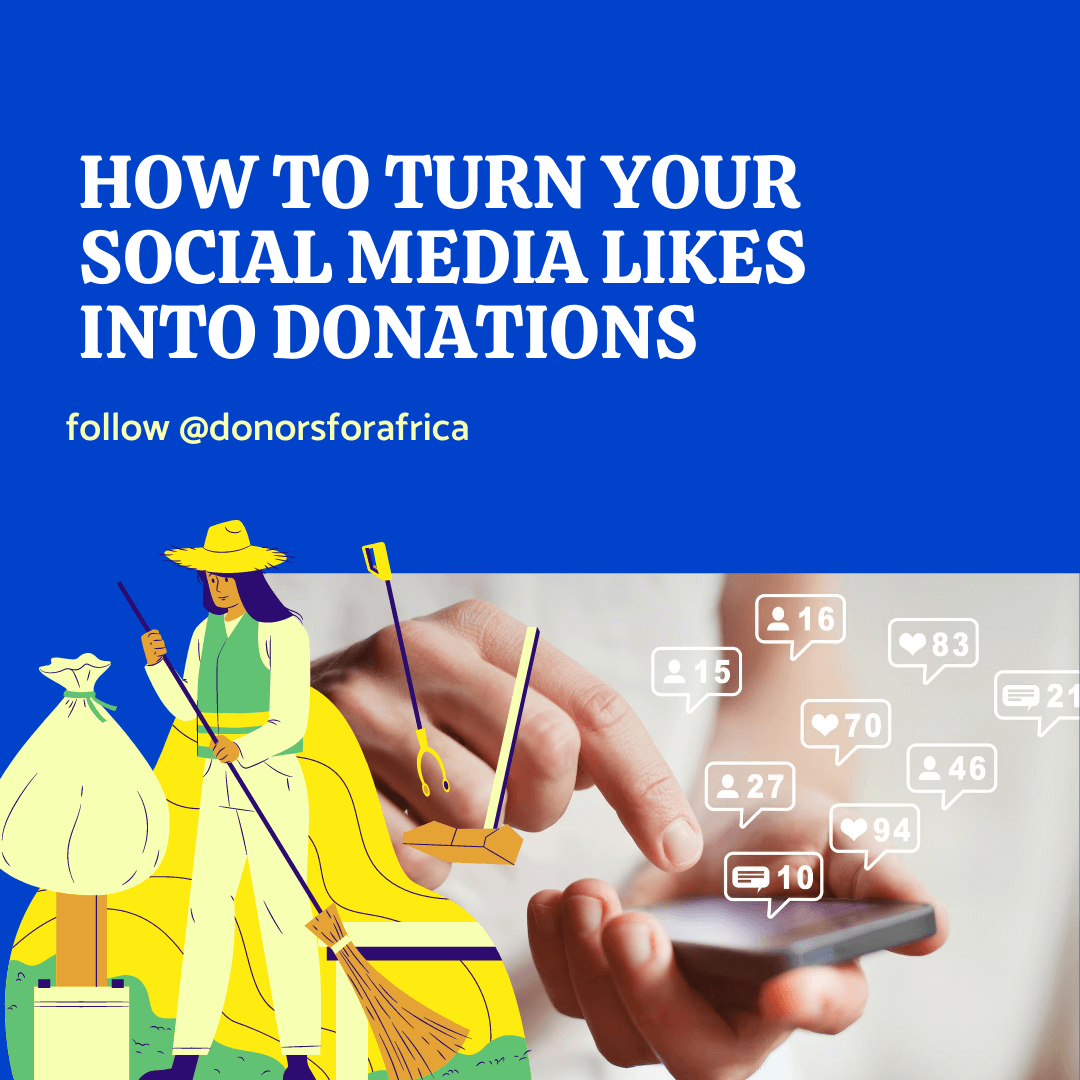 how to turn your social media likes into donations